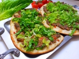 Turecka pizza (Lahmacun)